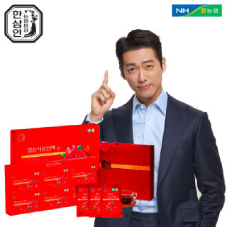[농협홍삼 한삼인] 홍삼석류진액_60mlX30포_1세트 +쇼핑백