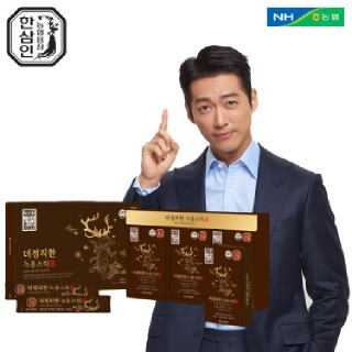 [농협홍삼 한삼인] 더정직한녹용스틱_10mlX30포_1세트 +쇼핑백