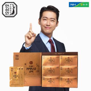 [농협홍삼 한삼인] 기력보감진액 50mlx30포 1세트+쇼핑백