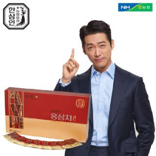 [농협홍삼 한삼인] 홍삼차골드_3gX100포_1세트 +쇼핑백