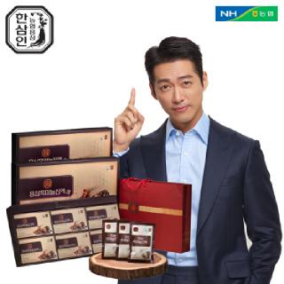[농협홍삼 한삼인] 홍삼흑마늘진액_60mlX30포_2세트 +쇼핑백