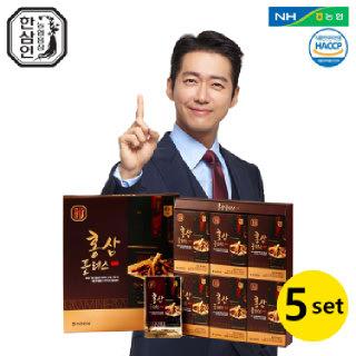 [농협홍삼 한삼인] 홍삼플러스_50mlX30포_5세트 +쇼핑백