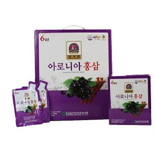 [백제금산인삼농협]아로니아홍삼(40ml*60포)