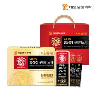 대웅생명과학 홍삼정 굿타임스틱 30포*1세트