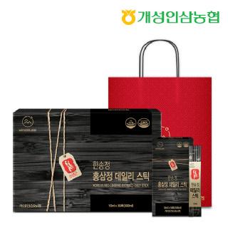 개성인삼농협 한송정 홍삼정 데일리스틱 30포*1박스