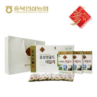 [충북인삼농협]홍삼정 골드 데일리 10g*30포