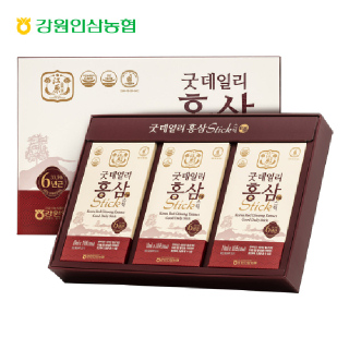 강원인삼농협 굿데일리 홍삼스틱 10ml*30포