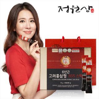 [정원삼] 6년근 고려홍삼정 365스틱 (10g x 30포)