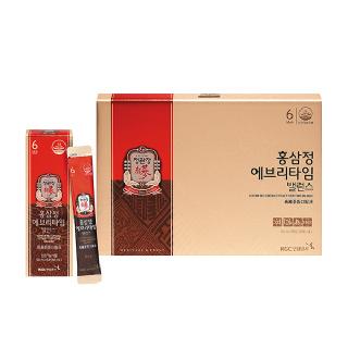 [정관장] 쇼핑백증정 / 홍삼정 에브리타임 밸런스 10ml*20포 (20일분)