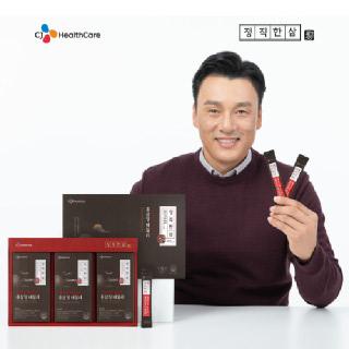 [CJ헬스케어] 이승엽의 정직한삼 정성가득 6년근 홍삼정 데일리