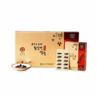 [백제금산인삼농협]삼지원 홍삼정캡슐골드(300caps.)