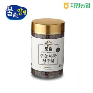 지평농협 쥐눈이콩 청국환 250g
