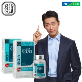 [농협홍삼 한삼인] 홍센오메가3_90캡슐_2세트 +쇼핑백