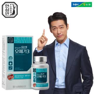 [농협홍삼 한삼인] 홍센오메가3_90캡슐_1세트 +쇼핑백
