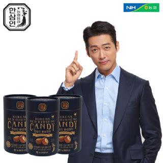 [농협홍삼 한삼인] 홍삼캔디_120g_3세트 +쇼핑백