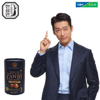 [농협홍삼 한삼인] 홍삼캔디_120g_1세트 +쇼핑백