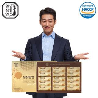 [농협홍삼 한삼인] 홍삼양갱_45gX15입_1세트 +쇼핑백