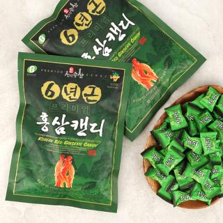 [김포파주인삼농협] 6년근 홍삼으로 만든 프리미엄 홍삼 캔디 270g x 3봉