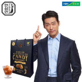 [농협홍삼 한삼인] 홍삼캔디_500g_1세트 +쇼핑백