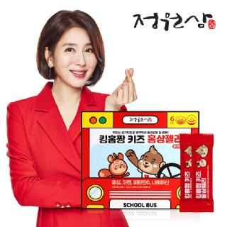[정원삼] 킹홍짱 키즈 홍삼젤리 딸기맛 (20g x 30포)