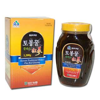 [마천농협] 토봉plus홍삼(병) 1.2kg
