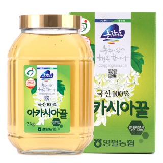 영월농협동강마루 아카시아꿀 2kg