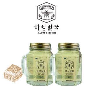 거창북부농협 하성 아카시아꿀(1등급)핸들컵 550g