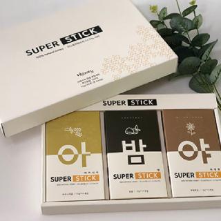 [농사랑]에스씨 슈퍼스틱 천연벌꿀 선물세트 12g x 15포 x 3box