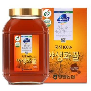 영월농협 동강마루 야생화꿀 2kg