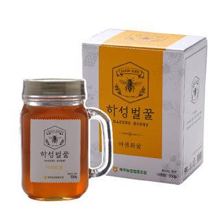거창북부농협 하성 야생화꿀(1등급)핸들컵 550g
