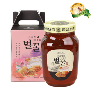 [백화농원] 프리미엄 야생화벌꿀 2.4kg