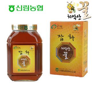 신림농협 치악산 잡화꿀 2kg