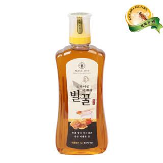 [백화농원] 프리미엄 야생화벌꿀 1kg(튜브)