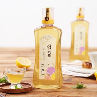 [산내들농원] 달콤 향긋 국내산 벌꿀 1kg x 2