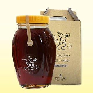 담양 100% 천연 밤꿀 1.2kg/2.4kg