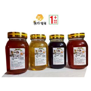 [농가벌꿀]2021년 수확한 햇꿀 아카시아꿀 밤꿀 찔레꿀(야생화) 헛개잡화 품질등급1+
