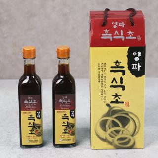 [무안양파] 양파 흑식초 420ml x 4병 x 2박스