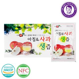김재식 아침앤사과생즙 30팩 1박스