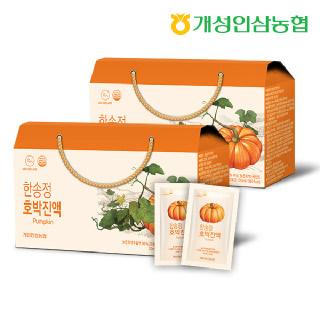개성인삼농협 한송정 호박진액 30포*2박스
