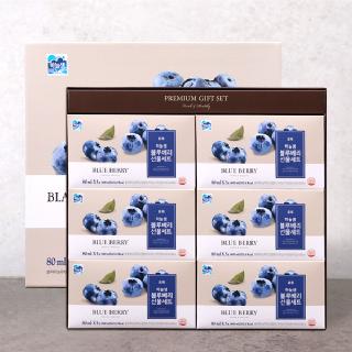 [하늘샘] 블루베리 선물세트 80ml x 30포 x 2세트