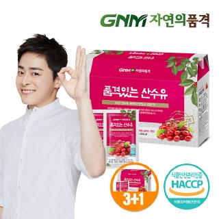 GNM자연의품격 품격있는 산수유즙 1박스 (총 30포) (3박스구매시1박스증정)