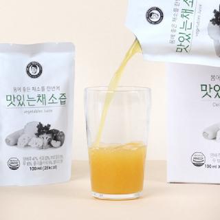 [김재식헬스푸드] 맛있는 채소즙 100ml 30팩 4박스