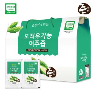 즙쟁이 유기농 여주즙 30포
