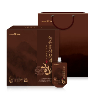 천호 귀한 녹용과 홍삼의 만남 녹용홍삼보력 70ml*30포+쇼핑백