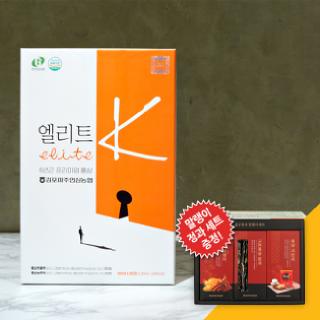 ★정과,말랭이 세트 증정★[김포파주인삼농협] 홍삼으로 만든 총명탕 엘리트k 50ml x 30포