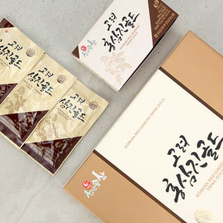 [김포파주인삼농협] 6년근 홍삼과 한약재로 만든 고려 홍삼진 골드 70ml x 30포