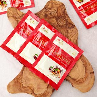 [김포파주인삼농협] 6년근 홍삼과 한약재로 만든 고려 홍삼액 마일드 50ml x 30포