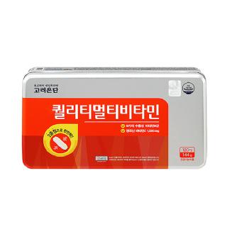 [고려은단] 퀄리티멀티비타민120정+추석한정 쇼핑백