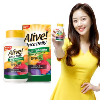 [Alive!] 얼라이브 원스데일리 멀티비타민 60정 [2개월분]