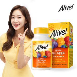 [얼라이브] 원스데일리 멀티비타민 60정 / 2개월분